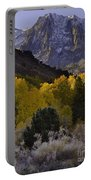 Eastern Sierras In Autumn Portable Battery Charger