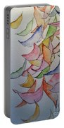 Falling Into Place Portable Battery Charger by Sherry Harradence