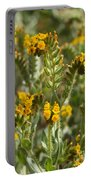 Fiddleneck Flowers Portable Battery Charger