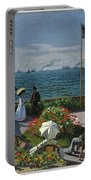 Garden At Sainte-adresse Portable Battery Charger