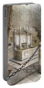 Granada Cathedral Doors And Other Details Portable Battery Charger