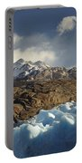 Grey Glacier In Chilean National Park Portable Battery Charger