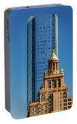 Houston, Texas - High Rise Buildings Portable Battery Charger