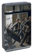 3. Jesus Drives Out The Money Changers / From The Passion Of Christ - A Gay Vision Portable Battery Charger