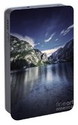 Lake Braies And Dolomite Alps, Northern Portable Battery Charger