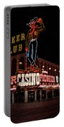 Las Vegas With Watercolor Effect Portable Battery Charger