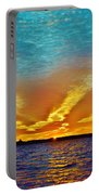 3 Layer Sunset Portable Battery Charger