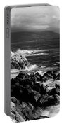 Lone Cypress On The Coast, Pebble Portable Battery Charger