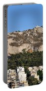 Lycabettus Hill During Sunset Portable Battery Charger