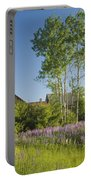 Maine Wild Lupine Flowers Portable Battery Charger