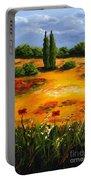 Mediterranean Landscape Portable Battery Charger