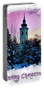 Christmas Card 22 Portable Battery Charger