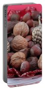 Mixed Holiday Nuts Portable Battery Charger