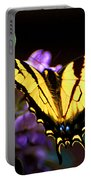 Monarch On Mountain Laurel Portable Battery Charger