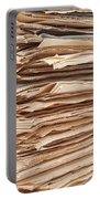 Newspaper Stack Portable Battery Charger