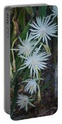 Night Blooming Cactus Portable Battery Charger