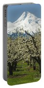 Orchard And Mount Hood, Oregon Portable Battery Charger