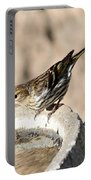 Pine Siskin Portable Battery Charger