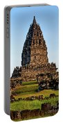 Prambanan Temple In Indonesia  Portable Battery Charger