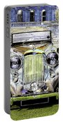 Psychedelic Classic Lagonda Portable Battery Charger
