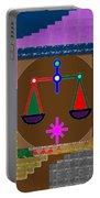 Pure Decorations Zodiac Symbol Art Portable Battery Charger