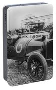 Racecar Drivers, C1913 Portable Battery Charger