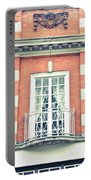 Red Brick Building Portable Battery Charger