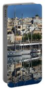 Reflections In Mikrolimano Port Portable Battery Charger