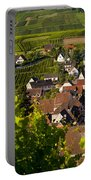 Riquewihr Alsace Portable Battery Charger by Brian Jannsen