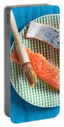Salmon Fillets Portable Battery Charger