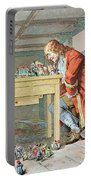 Scene From Gullivers Travels Portable Battery Charger by Frederic Lix