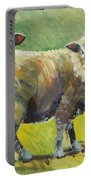Sheep Painting Portable Battery Charger