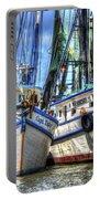 Shrimp Boats Season Portable Battery Charger