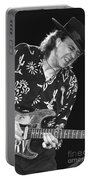 Guitarist Stevie Ray Vaughan Portable Battery Charger