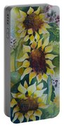 3 Sunflowers Portable Battery Charger
