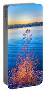 Sunset At Lake Wylie Portable Battery Charger