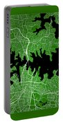 Sydney Street Map - Sydney Australia Road Map Art On Color Portable Battery Charger