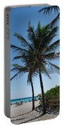 The Beach In Hollywood Florida Portable Battery Charger
