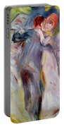 The Dance In The Country Portable Battery Charger by Pierre Auguste Renoir