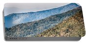 The Simple Layers Of The Smokies At Sunset - Smoky Mountain Nat. Portable Battery Charger