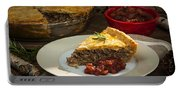 Tourtiere Meat Pie Portable Battery Charger