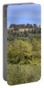 Tuscany - Montepulciano Portable Battery Charger by Joana Kruse