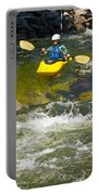 Two Whitewater Kayaks Portable Battery Charger