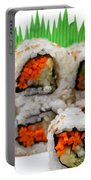 Vegetable Sushi Portable Battery Charger