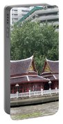 View From Chao Phraya River In Bangkok Portable Battery Charger