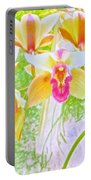 Laughing Watercolor Photography Portable Battery Charger