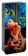 3 Wet Pink Panthers Portable Battery Charger