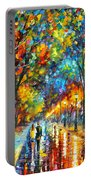 When Dreams Come True Portable Battery Charger by Leonid Afremov
