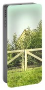 Wooden Gate Portable Battery Charger