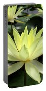 3 Yellow Lotus Portable Battery Charger